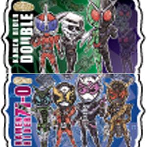 アクリルキーホルダー「平成仮面ライダー20作品記念」02/グラフアート 10個入りBOX