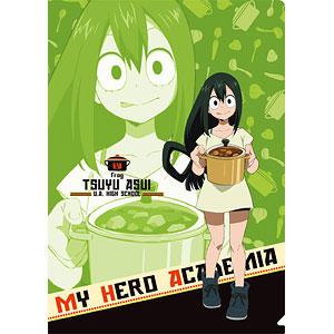 僕のヒーローアカデミア クリアファイル 蛙吹(合宿カレー)
