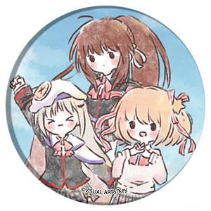 缶バッジ「リトルバスターズ!」02/鈴&小毬&クドリャフカ(グラフアート)