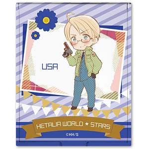 ヘタリア World★Stars コンパクトミラー デザイン04(アメリカ)