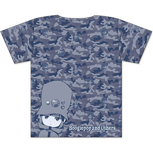 ブギーポップは笑わない フルグラフィックTシャツ カモフラデザイン Mサイズ
