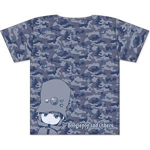 ブギーポップは笑わない フルグラフィックTシャツ カモフラデザイン Lサイズ