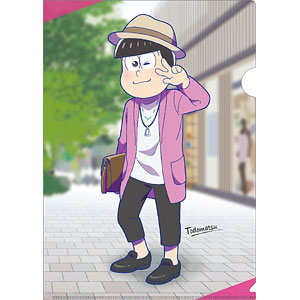 クリアファイル おそ松さん SnapShotシリーズ (6)トド松