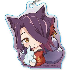 ぎゅぎゅっとアクリルキーホルダー 世話やきキツネの仙狐さん F