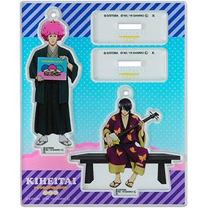 銀魂×Sanrio characters アクリルマスコットプレート 高杉&武市 メイキングイラスト