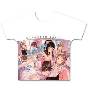 へんりいだ フルグラフィックTシャツ Size:L