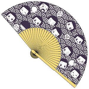 チコちゃんに叱られる! 涼風和紙扇子 青海波