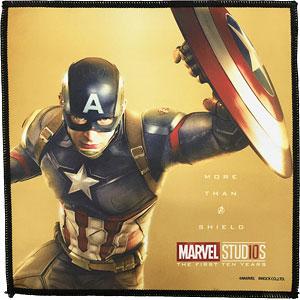 マーベルスタジオ 10th アニバーサリー/ マイクロファイバー ミニタオル キャプテン・アメリカ