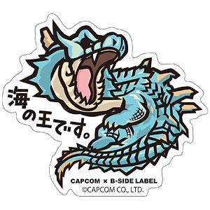 CAPCOM×B-SIDE LABELステッカー モンスターハンター 海の王です。