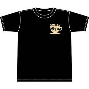 名探偵コナン 喫茶ポアロシリーズ Tシャツ ワンポイント・カップロゴ M