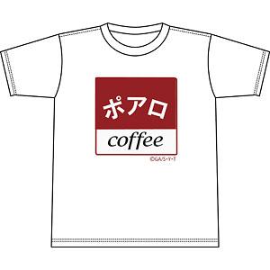 名探偵コナン 喫茶ポアロシリーズ Tシャツ スクエアロゴ S