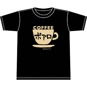 名探偵コナン 喫茶ポアロシリーズ Tシャツ カップロゴ S