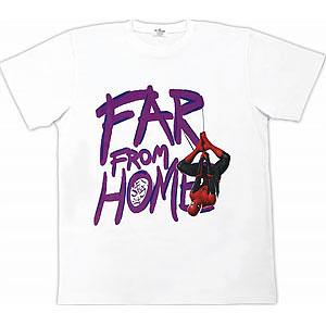 スパイダーマン ファー・フロム・ホーム/ Tシャツ ホワイト サイズL