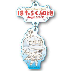 2連キーホルダー はたらく細胞 Angelシリーズ -Design produced by Sanrio- 白血球(好中球)