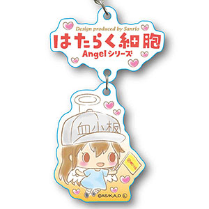 2連キーホルダー はたらく細胞 Angelシリーズ -Design produced by Sanrio- 血小板