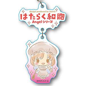 2連キーホルダー はたらく細胞 Angelシリーズ -Design produced by Sanrio- マクロファージ