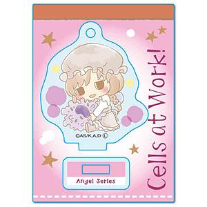 ぎゅぎゅっとミニスタンド はたらく細胞 Angelシリーズ -Design produced by Sanrio- マクロファージ