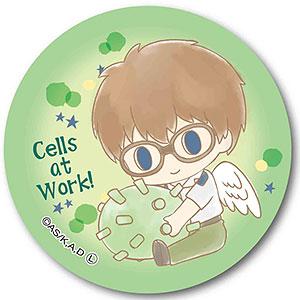 ぎゅぎゅっと缶バッチ はたらく細胞 Angelシリーズ -Design produced by Sanrio- ヘルパーT細胞