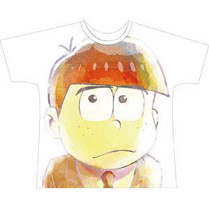 えいがのおそ松さん カラ松 Ani-Art フルグラフィックTシャツ ユニセックス L