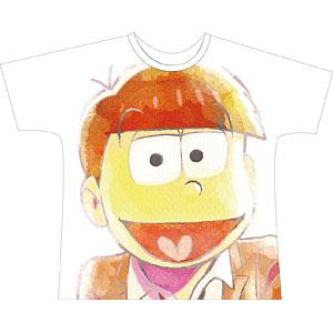 えいがのおそ松さん 一松 Ani-Art フルグラフィックTシャツ ユニセックス L