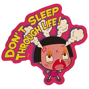 チコちゃんに叱られる! トラベルステッカー (4) DON'T SLEEP THROUGH LIFE!