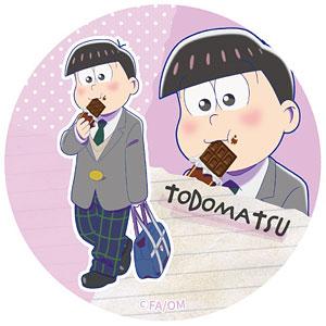 えいがのおそ松さん 描き下ろし トド松缶バッジ