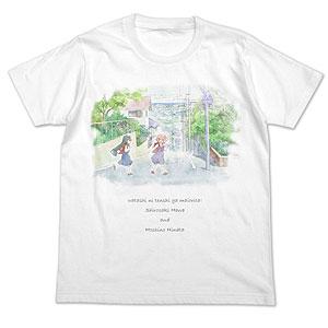 私に天使が舞い降りた! 花&ひなた フルカラーTシャツ/WHITE-M