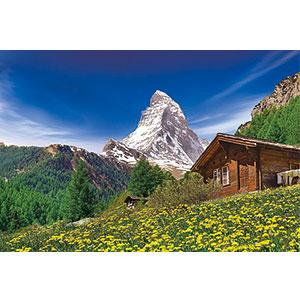 ジグソーパズル 世界風景 アルプスの名峰マッターホルン-スイス 2016ベリースモールピース (23-604)