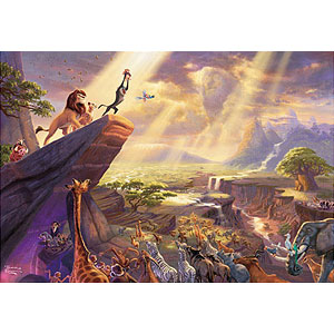 ジグソーパズル ディズニー The Lion King 1000ピース (D-1000-046)
