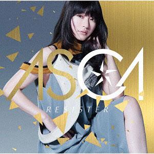 CD ASCA / RESISTER 通常盤 (TVアニメ「ソードアート・オンライン アリシゼーション」オープニングテーマ)