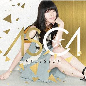 CD ASCA / RESISTER 初回盤 (TVアニメ「ソードアート・オンライン アリシゼーション」オープニングテーマ)