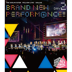 BD THE IDOLM@STER MILLION LIVE! 5thLIVE BRAND NEW PERFORM@NCE!!! LIVE Blu-ray DAY2 (Blu-ray Disc)