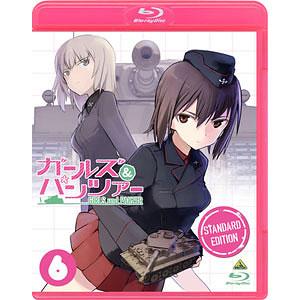 【特典】BD ガールズ&パンツァー 6 スタンダード版 (Blu-ray Disc)