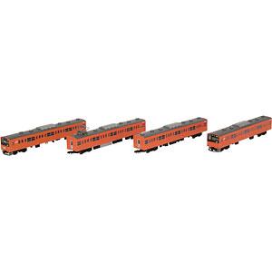 鉄道コレクション JR201系中央線快速 H4編成 4両セット