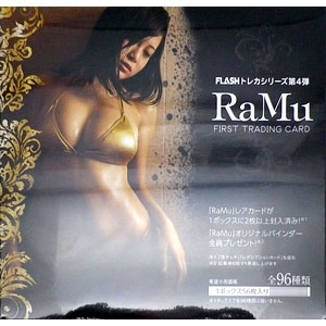 【特典】FLASHトレカシリーズ第4弾 ファースト・トレーディングカード RaMu 20BOX入りカートン