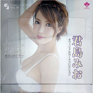 CJ SEXY CARD SERIES VOL.54 君島みお OFFICIAL CARD COLLECTION ~去り行く夏に秋風が・・・~ 12パック入りBOX
