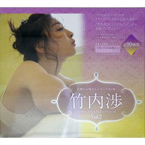 【特典】綺麗なお姉さんシリーズ 第2弾 竹内渉 トレーディングカード vol.2 20BOX入りカートン