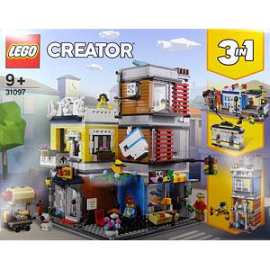 レゴ クリエイター タウンハウス ペットショップ&カフェ (31097)