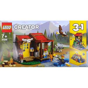 レゴ クリエイター 森のキャビン (31098)