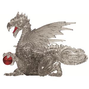 クリスタルパズル ブラック ドラゴン