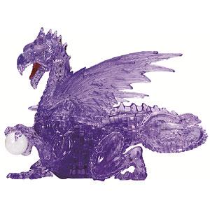 クリスタルパズル パープル ドラゴン