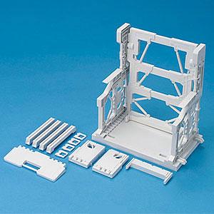 ビルダーズパーツ システムベース 001(ホワイト) プラモデル