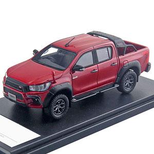 1/43 Toyota HILUX TRD カスタマイズ (2017) クリムゾンスパークレッドメタリック