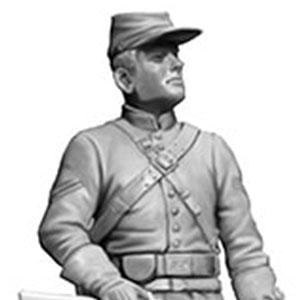1/35 南北戦争・北軍ポトマック軍騎兵1体・準備完了・1863年 プラモデル