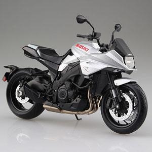 1/12 完成品バイク SUZUKI GSX-S1000S KATANA メタリックミスティックシルバー