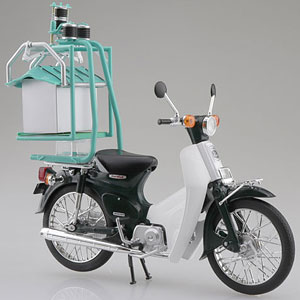 1/12 完成品バイク Honda スーパーカブ50 出前機付