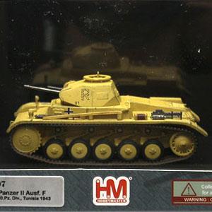 """1/72 ドイツ軍II号戦車F型""""チュニジア 1943"""""""