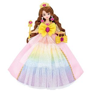リカちゃん ゆめみるお姫さま レインボーファンタジアドレス (ドール用)