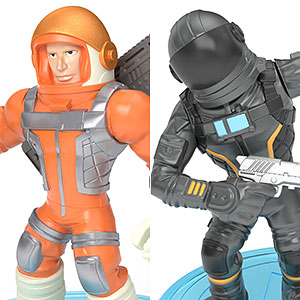 フォートナイト コレクションミニフィギュア 2体セット 010 ミッションスペシャリスト&ダークボイジャー