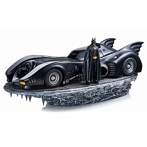 バットマン ティム・バートン/ バットモービル with バットマン 1/10 DX スタチュー